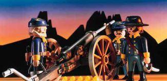 Playmobil - 3057-usa - Northern Artillery