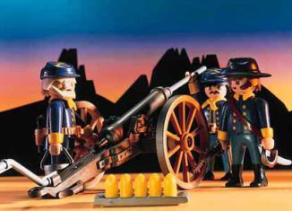 Playmobil - 3057-usa - US Artillery
