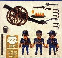 Playmobil 3057-usa - US Artillery - Back