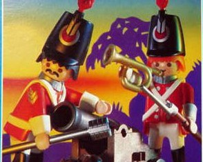 Playmobil - 3058-usa - redcoats watch post