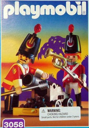 Playmobil 3058-usa - redcoats watch post - Box