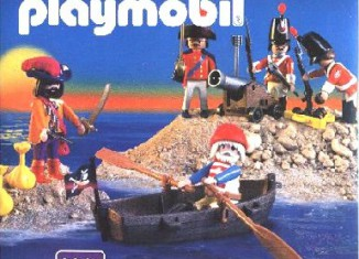 Playmobil - 3061-esp - pirates and soldiers
