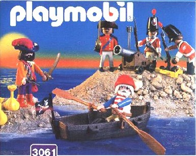 Playmobil 3061-esp - pirates and soldiers - Box