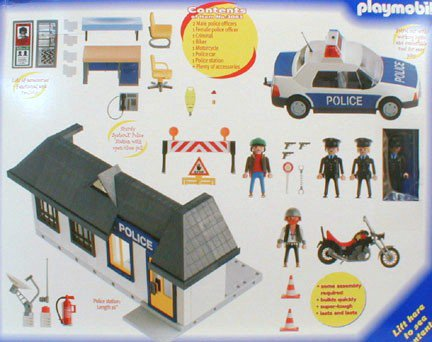 Playmobil 3085 - Adventure - Police* - Back