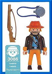 Playmobil 3086-esp - Jungle Explorer male - Back