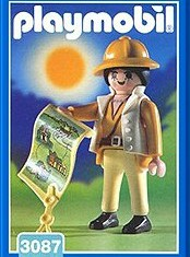 Playmobil - 3087-esp - Jungle Explorer female