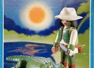 Playmobil - 3088-esp - Alligator Ravine