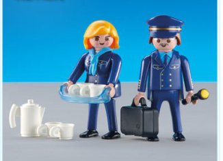 "Playmobil - 3107 - Pilot & Stewardess ""Austrian Airlines"""