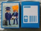 "Playmobil 3107 - Pilot & Stewardess ""Austrian Airlines"" - Back"