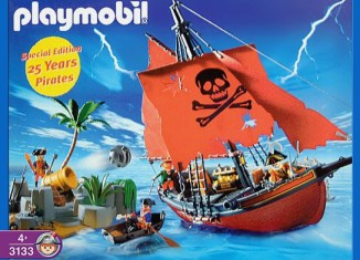 Playmobil - 3133 - special edition 25 años pirates