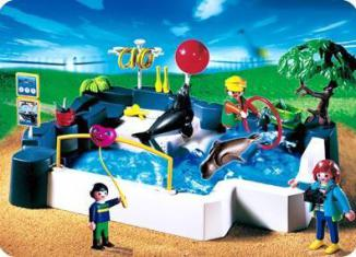 Playmobil - 3135s3 - SuperSet Zoo - Seal Pool