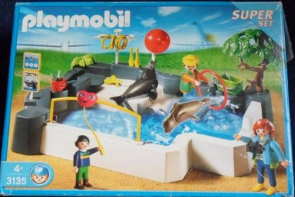 Playmobil 3135s3 - SuperSet Zoo - Seal Pool - Box