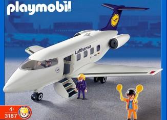 Playmobil - 3187s2 - Jet de ligne Lufthansa