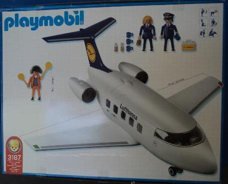 Playmobil 3187s2 - Airline Lufthansa - Back