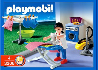 Playmobil - 3206s2 - Laundry Room