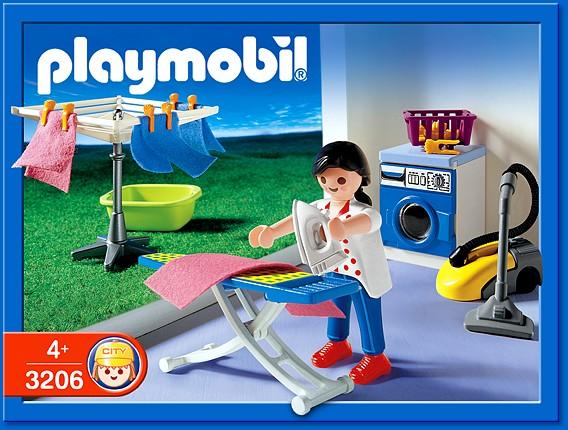 Playmobil Set 3206s2 Laundry Room Klickypedia