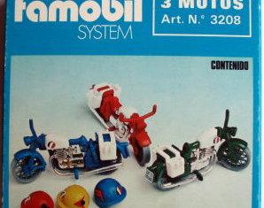 Playmobil - 3208-fam - 3 Motorbikes