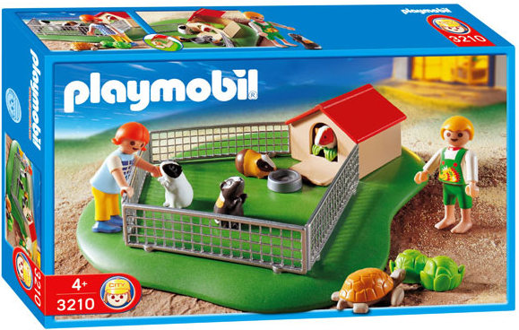 Playmobil 3210s3 - Children with Guinea Pigs - Box