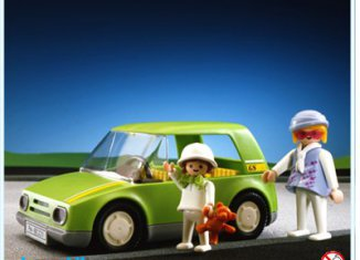 Playmobil - 3211s2 - Light Green City Car