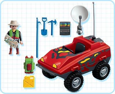 Playmobil 3216s2 - Amphibious transport - Back