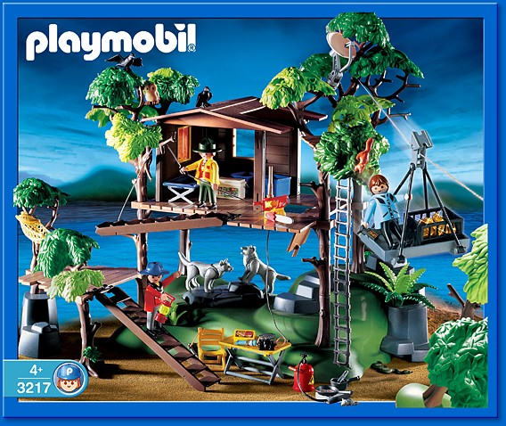 Playmobil 3217s2 - Expedition Lodge - Box