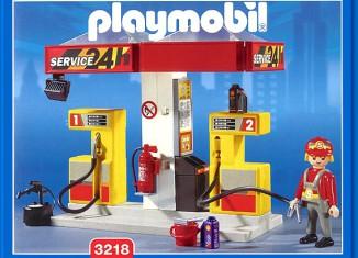 Playmobil - 3218s2 - Gas Station