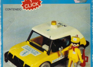 Playmobil - 3219-fam - Assistance car