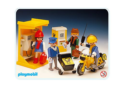 Playmobil set 3231v3 post office klickypedia for Playmobil post