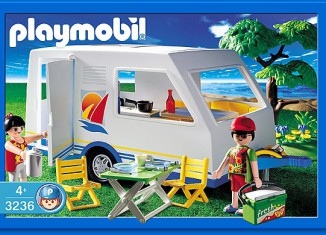 Playmobil - 3236s2 - Family Vacation Camper