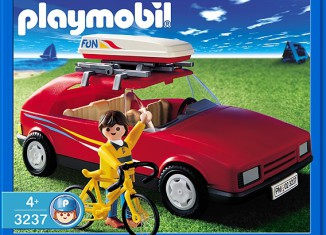 Playmobil - 3237s2 - Red Family Car