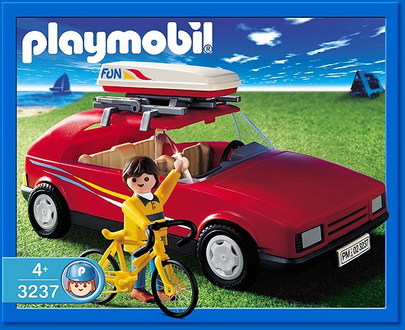 playmobil set 3237s2 red family car klickypedia. Black Bedroom Furniture Sets. Home Design Ideas