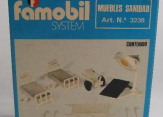 Playmobil - 3238-fam - Complementos Sanitarios