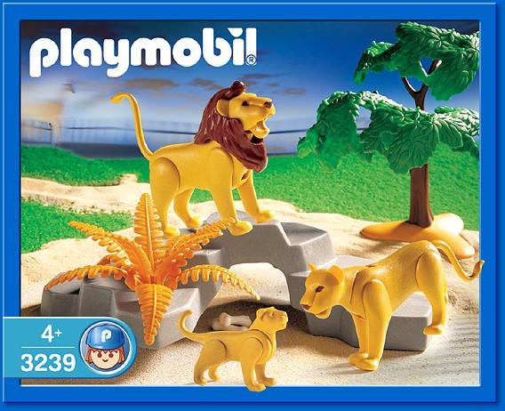 Playmobil 3239s2 - Lion Pride - Box
