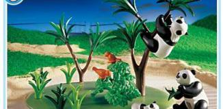Playmobil - 3241s2 - Panda Family