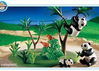 Playmobil - 3241s2 - Panda Family