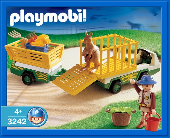 Playmobil 3242s2 - Zoo-Transporter - Box