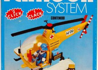 Playmobil - 3247-fam - Rescue helicopter