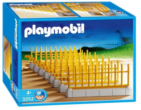 Playmobil 3252s2 - Zoo Fencing - Box
