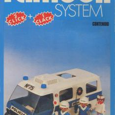 Playmobil - 3253-fam - Furgon Policial