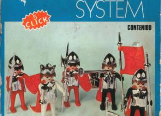 Playmobil - 3261-fam - King and 4 soldiers