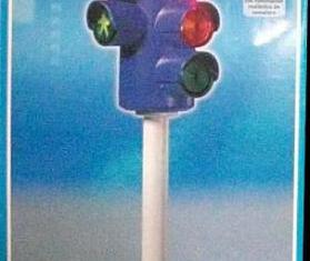 Playmobil - 3266s2 - Traffic Light  - Battery Operated