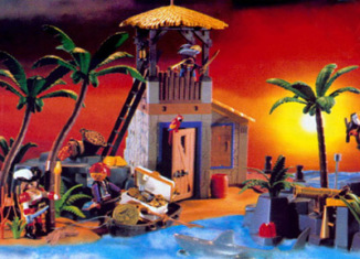 Playmobil - 3285-usa - pirate lagoon