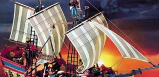Playmobil - 3286-usa - big pirate flagship