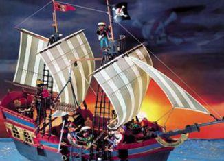 Playmobil - 3286-usa - big pirate flagship