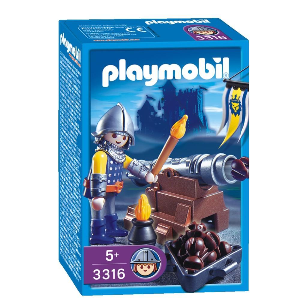 Playmobil 3316s2 - Canonier - Box