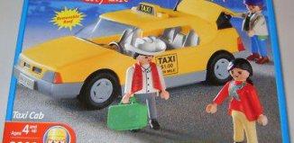 Playmobil - 3323-usa - Airport Taxi