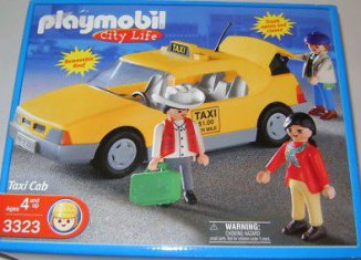 Playmobil - 3323-usa - Airport Taxi