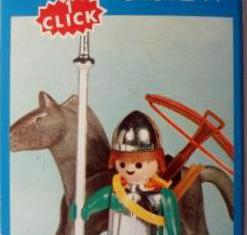 Playmobil - 3333-fam - Soldier and horse