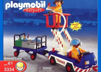 Playmobil - 3334-usa - Ground Crew