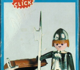 Playmobil - 3334v1-fam - Soldier with treasure
